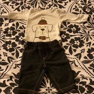 ✨Carter's Baby two piece pants set